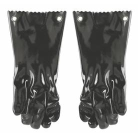 Mr. Bar-B-Q 2-Pack White Silicone Grill Gloves