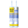 GE 10.1-oz Clear Silicone Window and Door Caulk