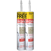 GE 19.6 oz White Silicone Kitchen and Bathroom Caulk