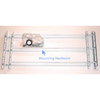 John Sterling Corporation White Window Security Bar