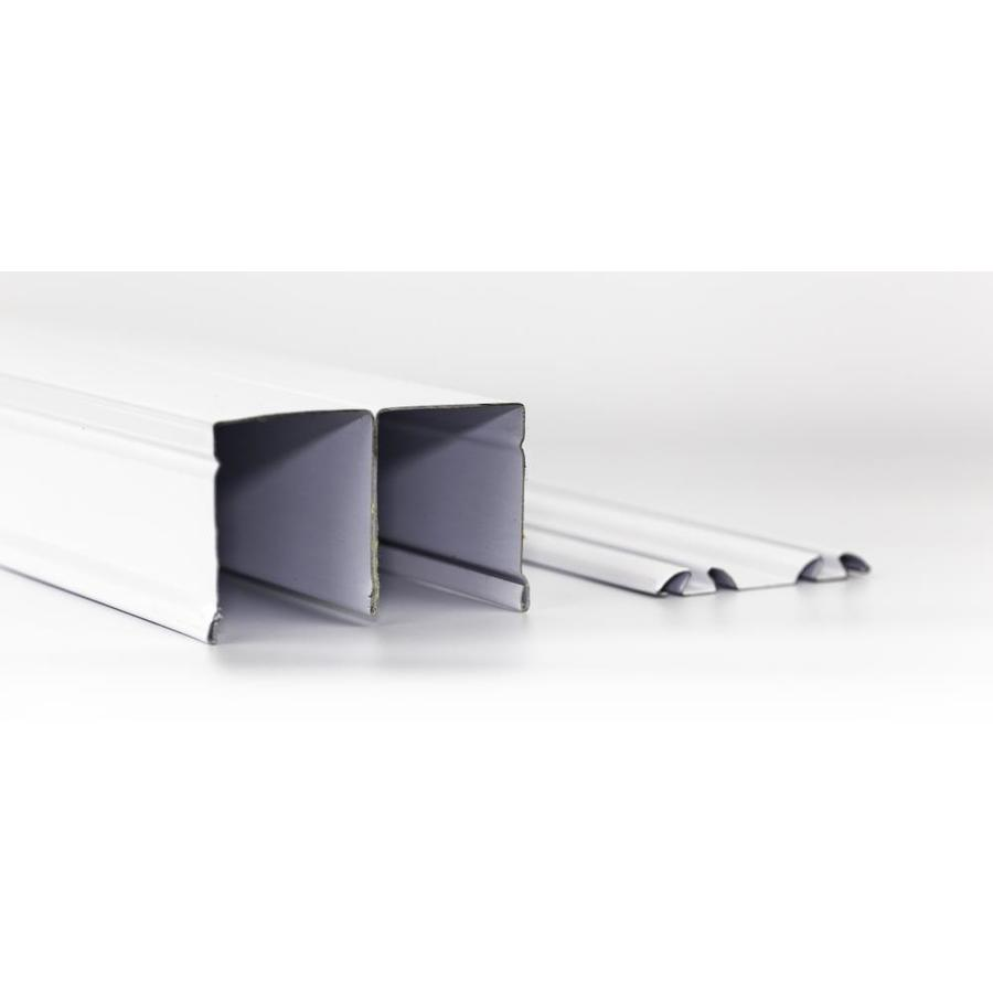 ReliaBilt 96 In Bi Pass Door Sliding Closet Door Track At