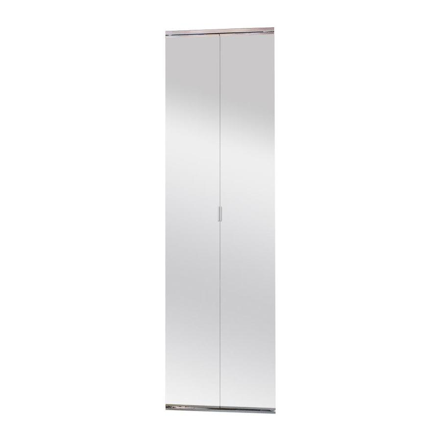 Shop Manor Court 30 In X 80 In Framed Mirror Bifold Door At Lowes Com