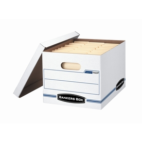 BANKERS BOX Basic-Duty Storage File