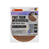 Frost King 8-1/2-in x 17-ft Brown Vinyl Foam Window Weatherstrip