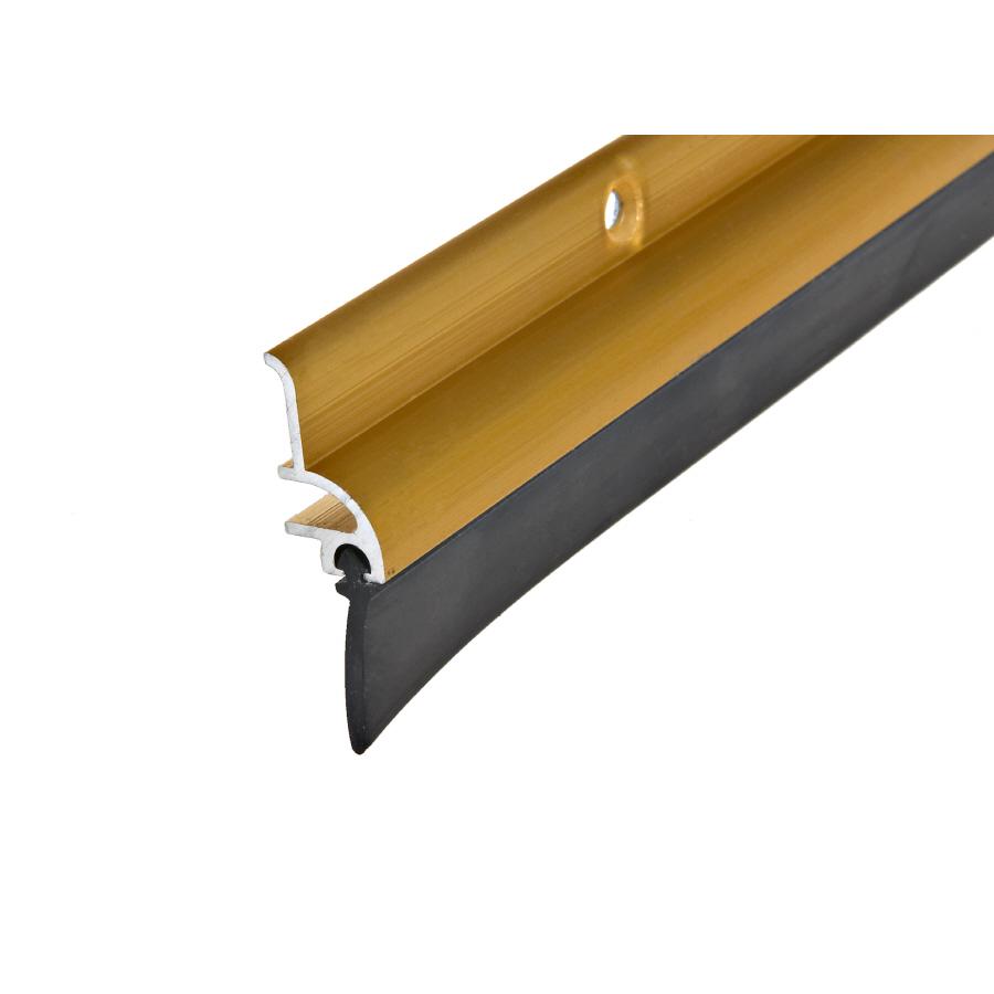Shop frost king 1 1 2 x 36 gold metal vinyl door threshold for Door threshold