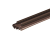 Frost King 1-3/4-in x 3-ft Brown Vinyl Door Weatherstrip
