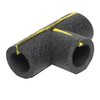 Frost King 3/8-in Foam Tee for 1/2-in Pipe