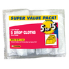 Frost King 5-Pack 12-ft x 9-ft .7mm Plastic Drop Cloth