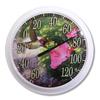 Garden Treasures Indoor/Outdoor White Hummingbird Thermometer