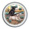 Garden Treasures Indoor/Outdoor White Labrador Thermometer