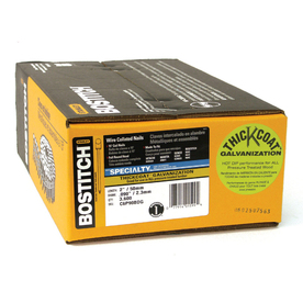 STANLEY-BOSTITCH 3600-Count 1/8-Gauge 2-in Galvanized Wood Siding Nails