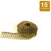 STANLEY-BOSTITCH 3/4-in Smooth Shank 15° Coil Roofing Nails