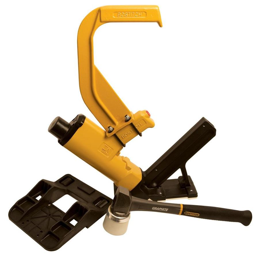 Shop bostitch flooring pneumatic nailer at for Floor nail gun