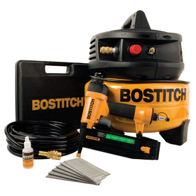 Bostitch 1-HP 6-Gallon 120-PSI Pancake Portable Electric Air Compressor