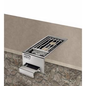 Weber Summit Built-In Grill Cabinet Natural Gas Side Burner