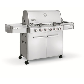 Weber Summit S-620 6-Burner (60000 BTU) Liquid Propane Gas Grill with Side Burner