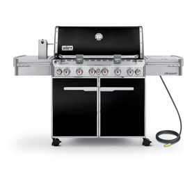 Weber Summit E-670 6-Burner (60000 BTU) Natural Gas Grill with Side and Rotisserie Burner