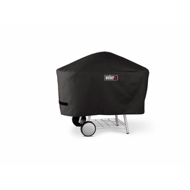 Weber Vinyl 52-in Charcoal Grill Cover