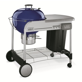 Weber Performer Dark Blue Porcelain-Enameled Charcoal Grill