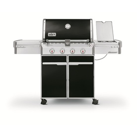 Weber Summit E-420 4-Burner (48800 BTU) Natural Gas Grill with Side Burner