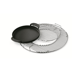 Weber 3-Pack Original Non-Stick Porcelain-Coated Metal Griddle