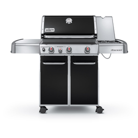 Weber Genesis E-330 Black Porcelain-Enameled Steel 3-Burner (38000 Btu) Natural Gas Gas Grill 1 Na