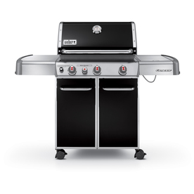 Weber Genesis E-330 Black Porcelain-Enameled Steel 3-Burner (38000 Btu) Liquid Propane Gas Grill 1 Na