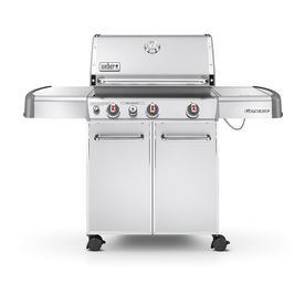 Weber Genesis S-330 3-Burner (38000 BTU) Liquid Propane Gas Grill with Side Burner