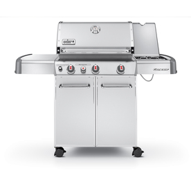 Weber Genesis S-330 3-Burner (38000 BTU) Natural Gas Grill with Side Burner