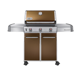 Weber Genesis E-310 Copper 3-Burner (38000 BTU) Liquid Propane Gas Grill