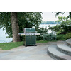 Weber Genesis E-330 Green 3-Burner (38,000-BTU) Liquid Propane Gas Grill with 1-Side Burners