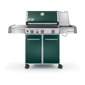 Weber Genesis E-330 Green 3-Burner (38000 BTU) Liquid Propane Gas Grill with Side Burner