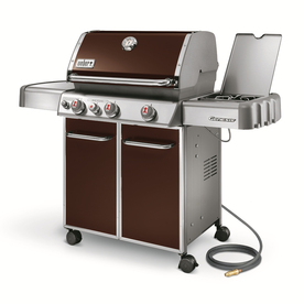 Weber Genesis E-330 Espresso 3-Burner (38,000-BTU) Natural Gas Gas Grill with 1-Side Burners