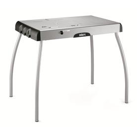 Weber Steel Gray Steel Folding Grill Stand