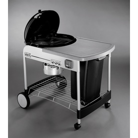 Weber Performer Black Porcelain-Enameled Charcoal Grill