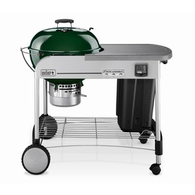 Weber Performer Gold 22.5-in Green Kettle Charcoal Grill