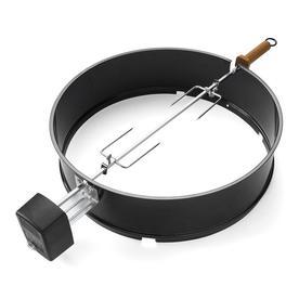 Weber 21-in Steel Grill Rotisserie