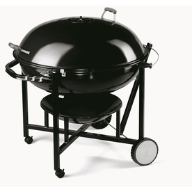 Weber Ranch Kettle Porcelain-Enameled Charcoal Grill