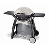 Weber Q Titanium 1 lb Cylinder Piezo Ignition Portable Gas Grill
