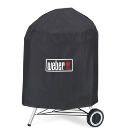 Weber Vinyl 28-in Charcoal Kettle Grill Cover