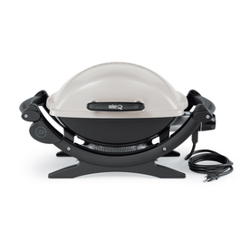 Weber 1560-Watt Silver Electric Grill
