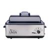 Nesco 12-Quart Stainless Steel Rectangle Slow Cooker