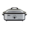 Nesco 18-Quart Stainless Steel Rectangle 1-Vessel Slow Cooker