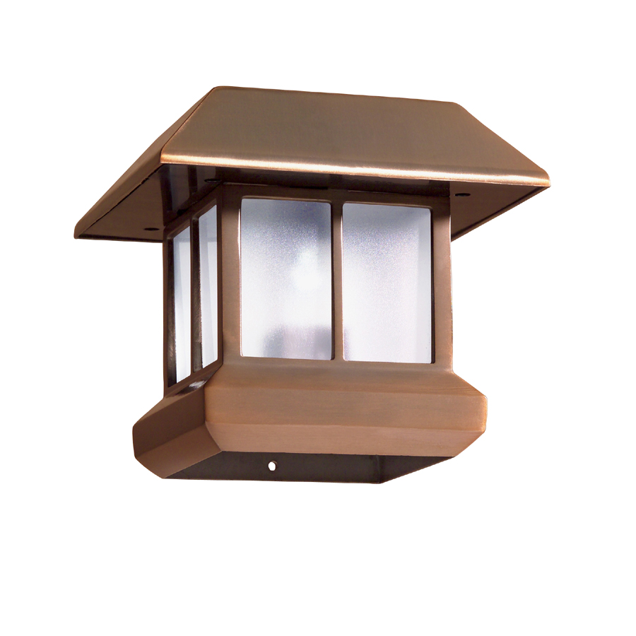shop malibu solar post top light at. Black Bedroom Furniture Sets. Home Design Ideas