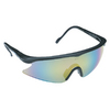 3M Black Frame with Mirror Lens Plastic Safety Glasses