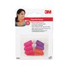 3M 4-Pack Multicolor Disposable Ear Plugs