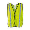 3M Large Lime Yellow Polyester High Visibility Reflective Safety Vest