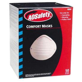 AOSafety Comfort Mask pack of 50 Disposable Safety Mask, Uvex