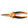 Fiskars 2.5-in Serrated Spring Assisted Soft-Grip Scissors