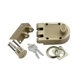 First Watch Single Cylinder Interlocking Deadbolt